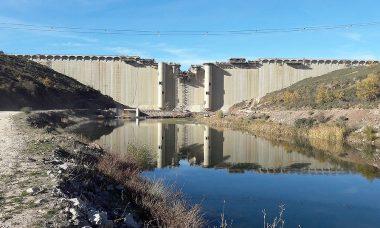 El hormigonado del embalse de Castrovido (Burgos) alcanza el 98,4% y podrá comenzar su llenado a partir del otoño