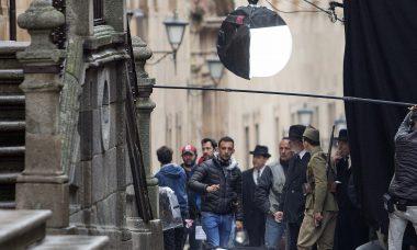 Amenábar inicia en el centro histórico de Salamanca el rodaje de 'Mientras dure la guerra'
