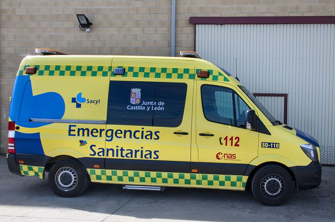Herido Un Varon De 54 Anos En Un Accidente De Trafico En Salas De